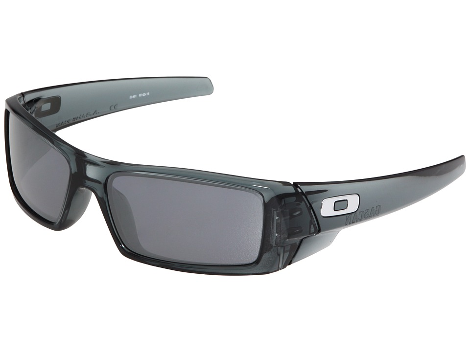 Oakley - GasCan (Crystal Black/Black Iridium Lenses) Sport Sunglasses