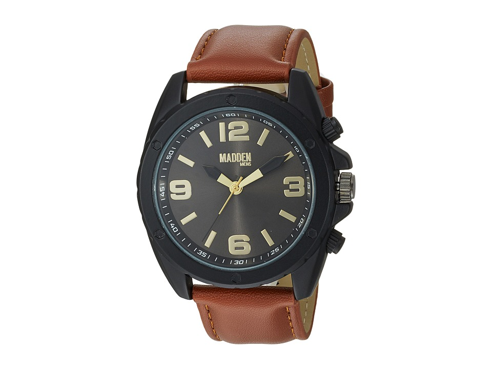 Steve Madden - Madden Mens SMMW038BK-BR (Black/Brown) Watches