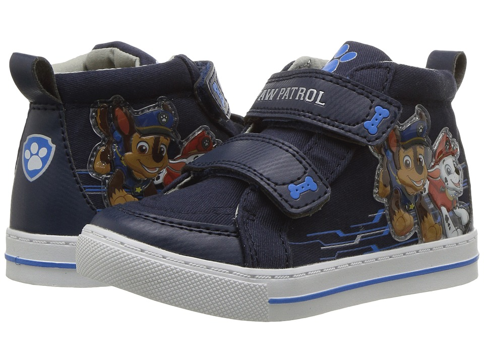 Josmo Kids Paw Patrol High Top Sneaker (Toddler/Little Kid) (Navy 1) Boy