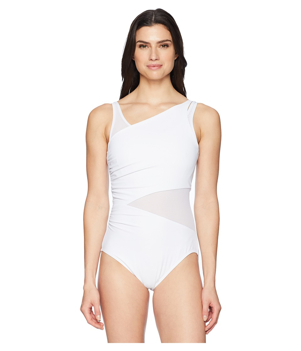 Miraclesuit Illusionist Azura One-Piece (White) Women