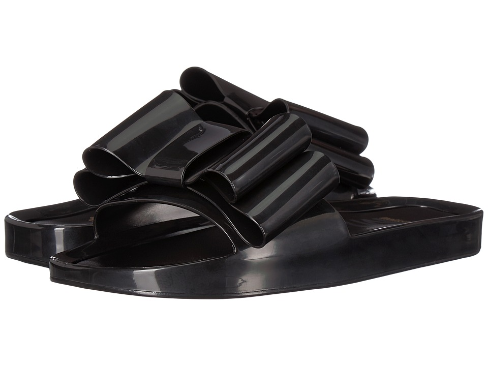 Melissa Shoes Beach Slide Bow (Black) Women