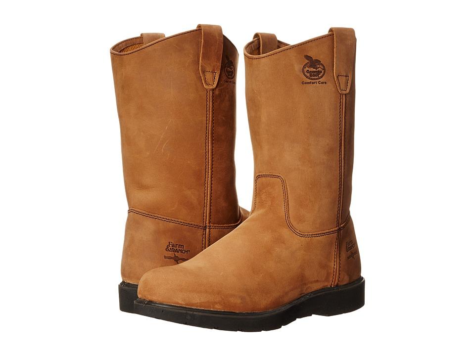 Georgia Boot 11 Wellington (Tan) Cowboy Boots