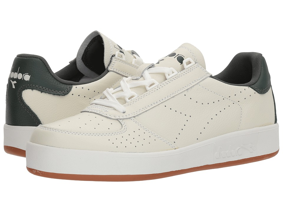 Diadora B.Elite Premium L (White/Jungle Green) Athletic Shoes