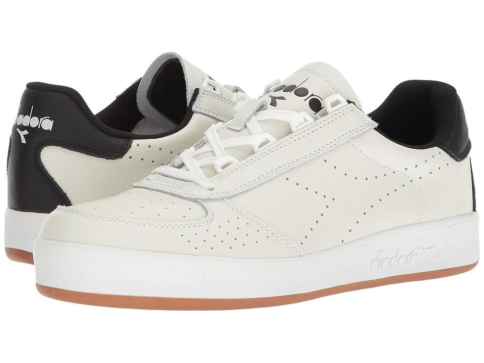 Diadora B.Elite Premium L (Optical White/Black) Athletic Shoes