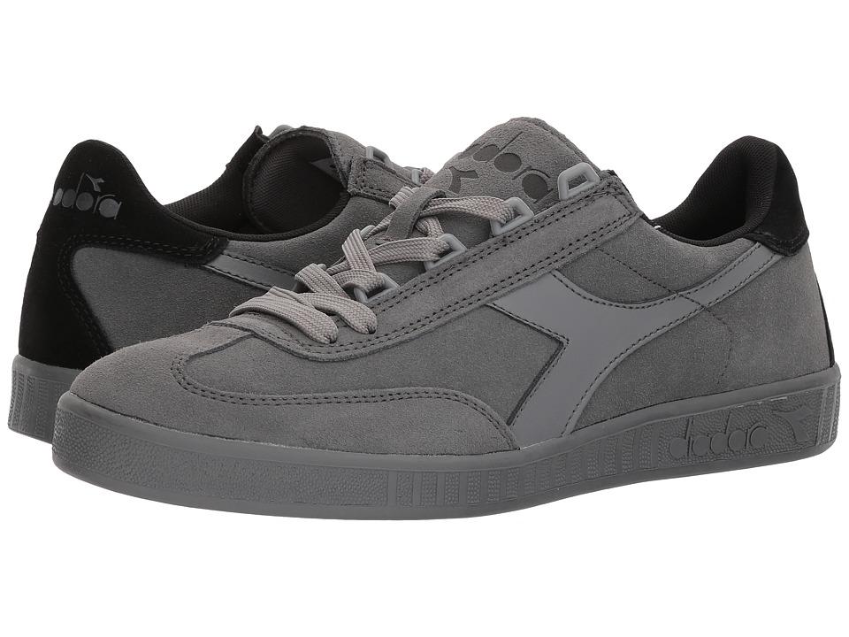 Diadora B.Original (Steel Gray/Black/Steel Gray) Athletic Shoes