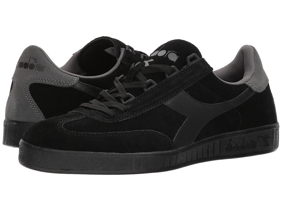 Diadora B.Original (Black/Gray) Athletic Shoes