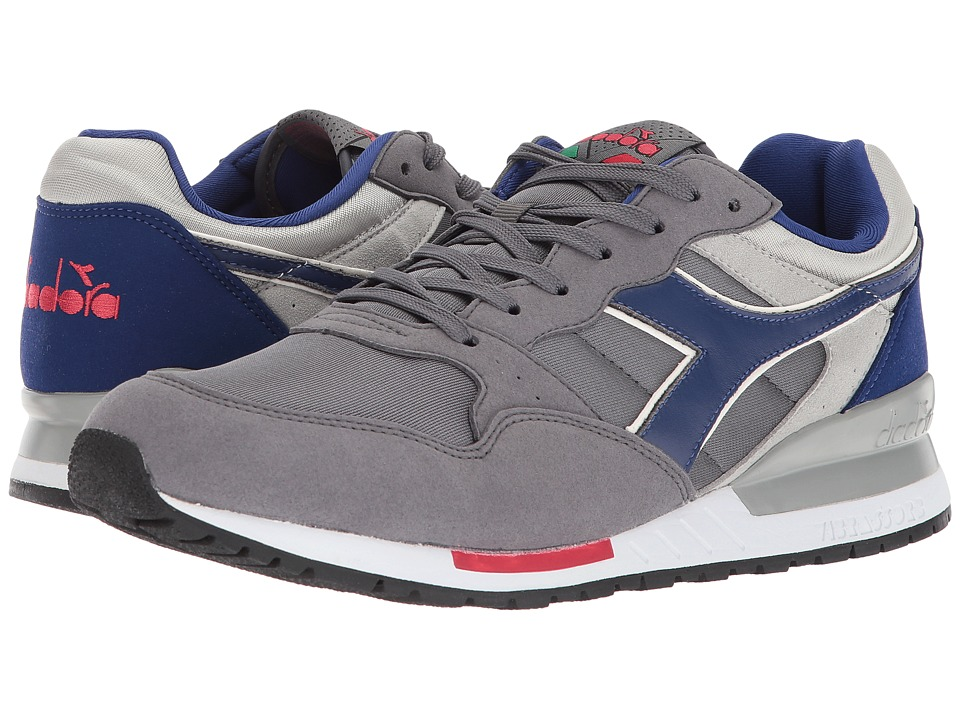 Diadora Intrepid NYL (Castle Rock/Mazarine Blue/White) Athletic Shoes