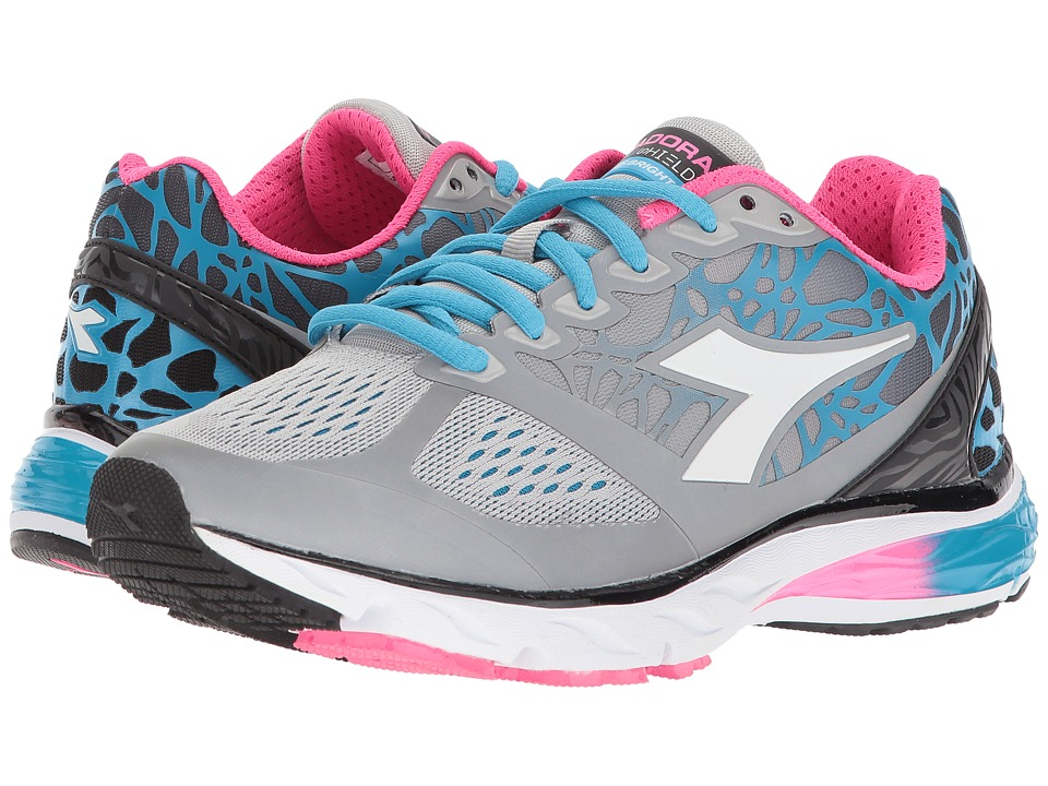 Diadora Mythos Blushield Bright (Silver/White) Women