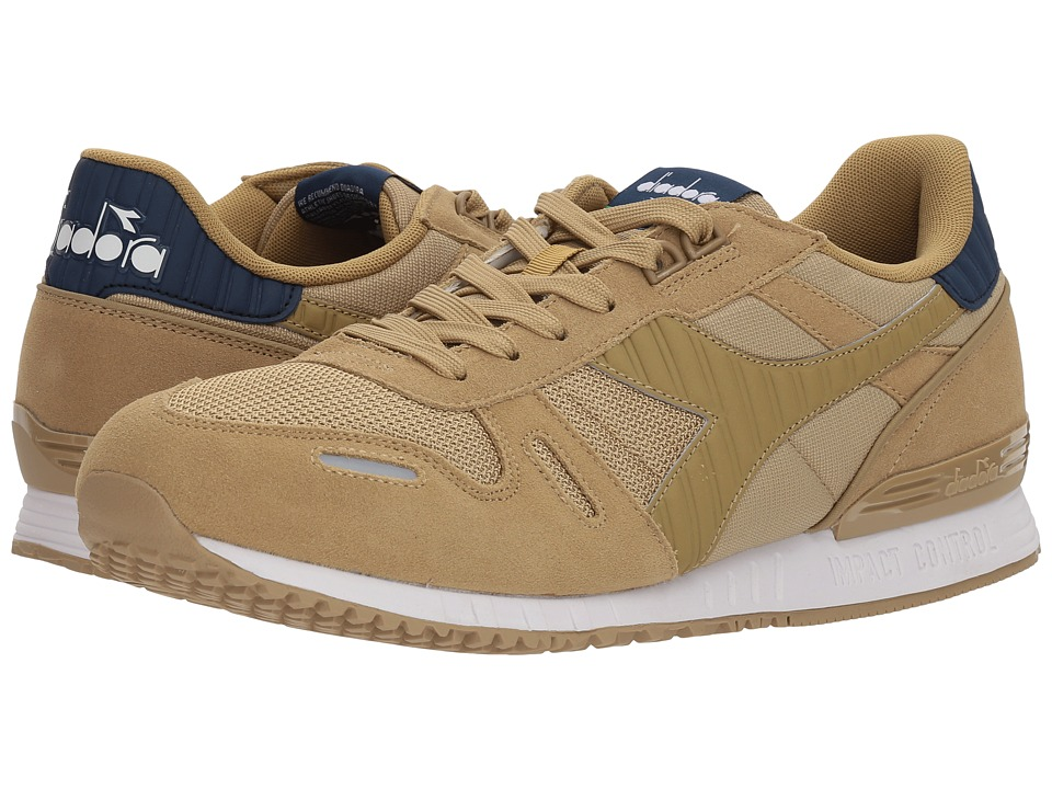 Diadora Titan II (Khaki/Estate Blue) Athletic Shoes