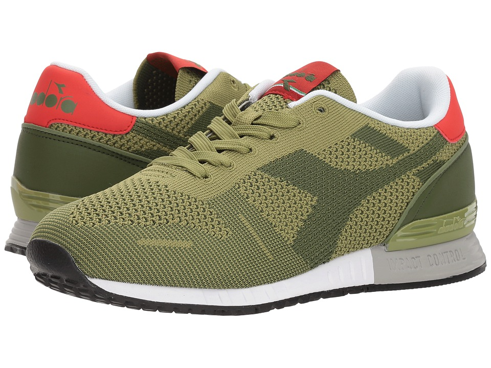 Diadora Titan Weave (Olivine/Sage) Athletic Shoes