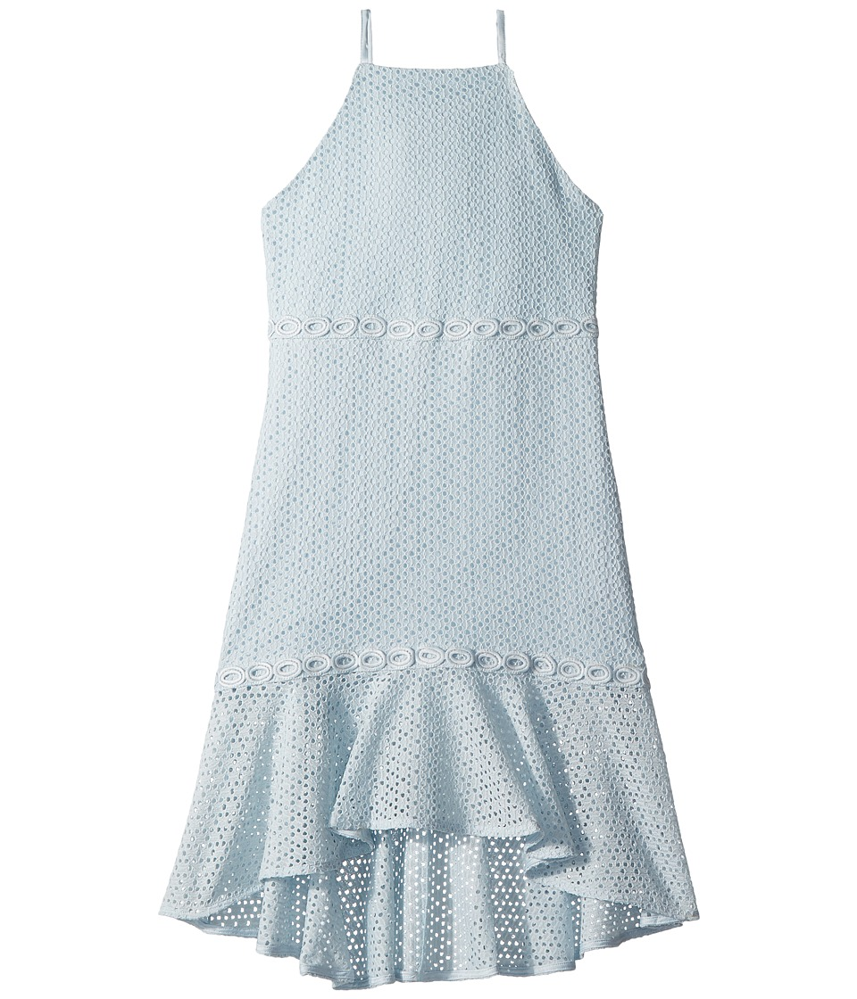 Bardot Junior Ariana Dress (Big Kids) (Illusion Blue) Girl