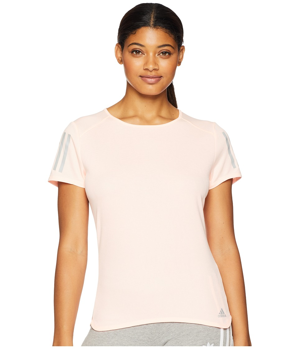 adidas Response Short Sleeve Tee (Clear Orange) Women