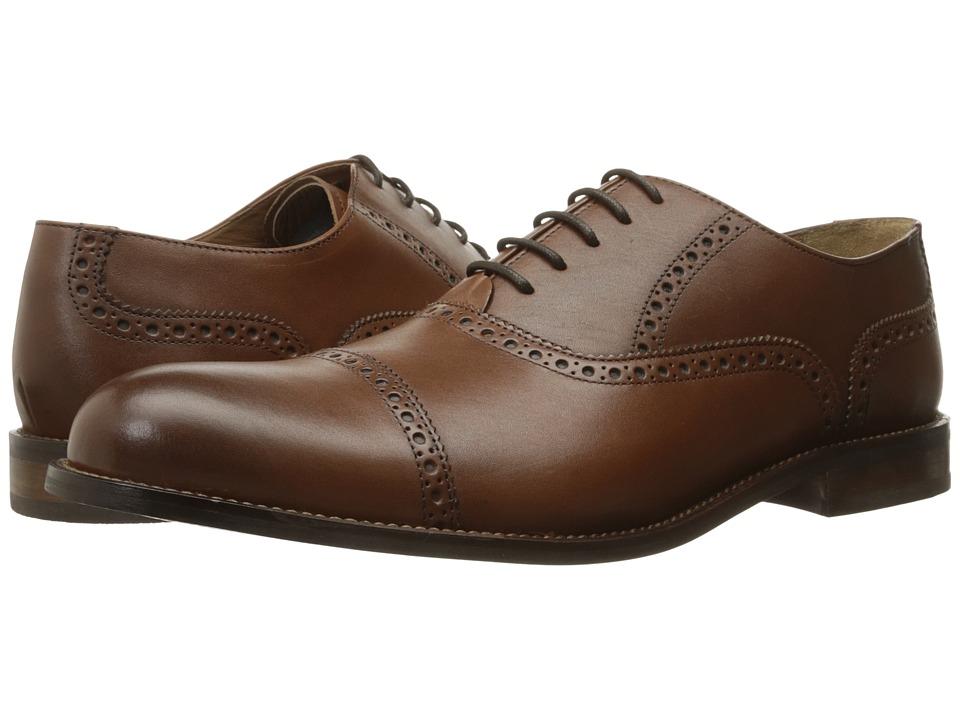 Florsheim Pascal Cap Toe Oxford (Saddle Tan) Men