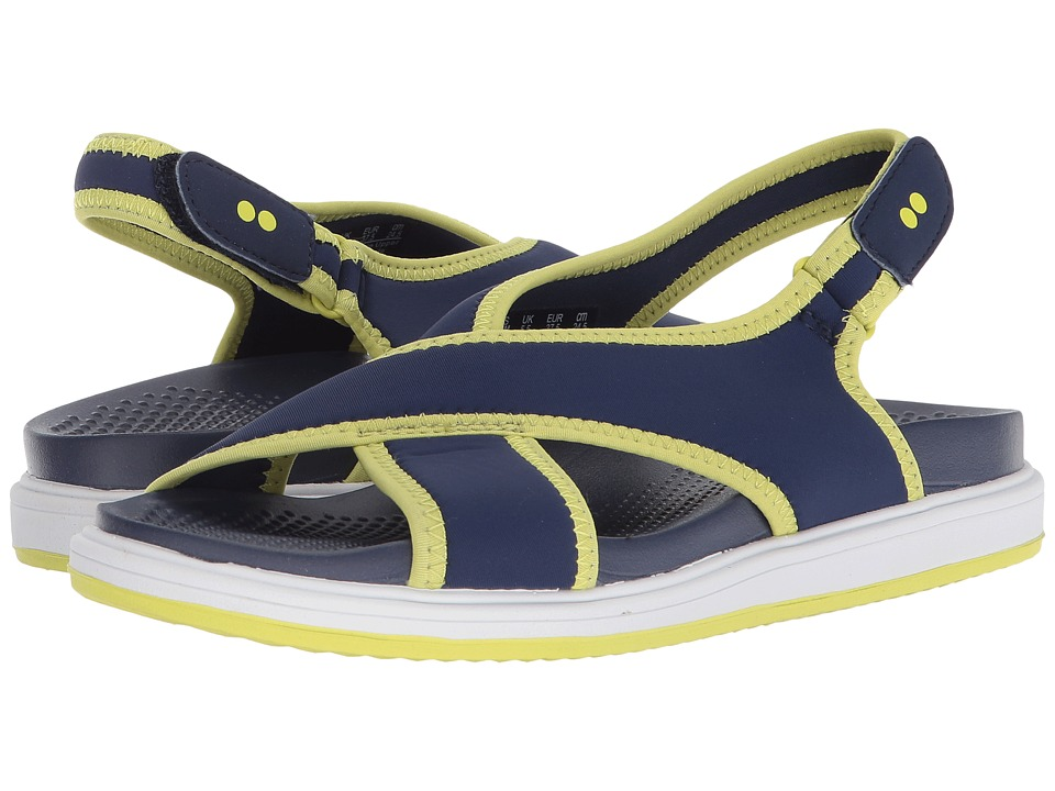 Ryka Leisure (Medieval Blue/Bright Chartreuse) Women