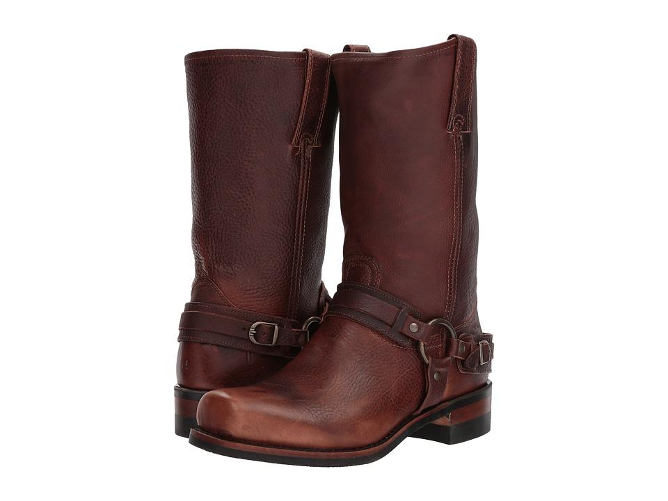 Frye Belted Harness 12R (Chestnut) Cowboy Boots