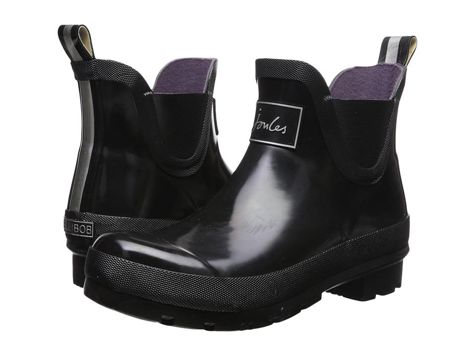 Joules Wellibob Chelsea Boot (Black Rubber) Women