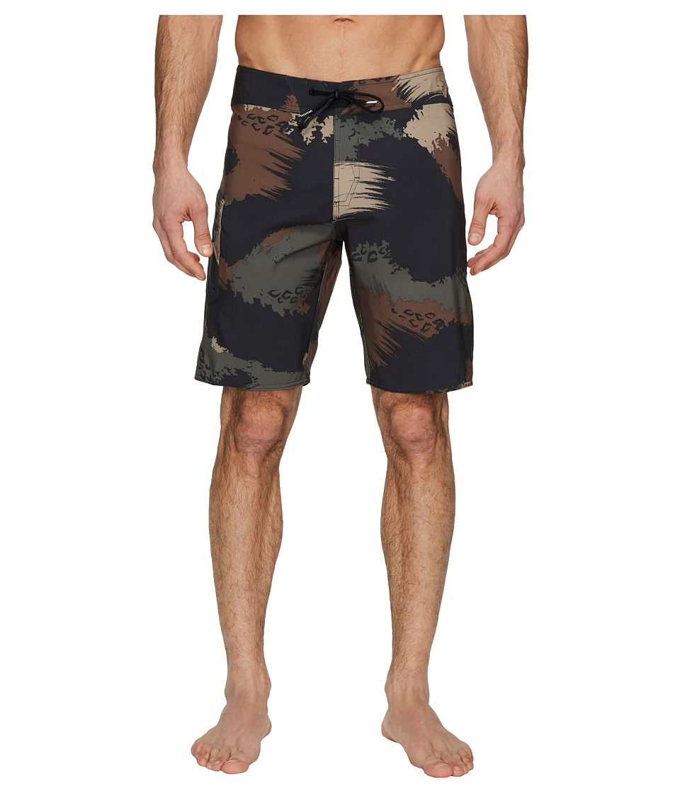 Volcom Lido Solid Mod 20 Boardshorts (Military) Men