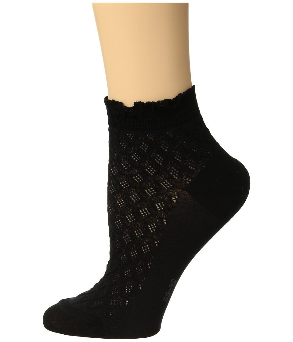 Falke Dolce Vita Sneaker Sock (Black) Women