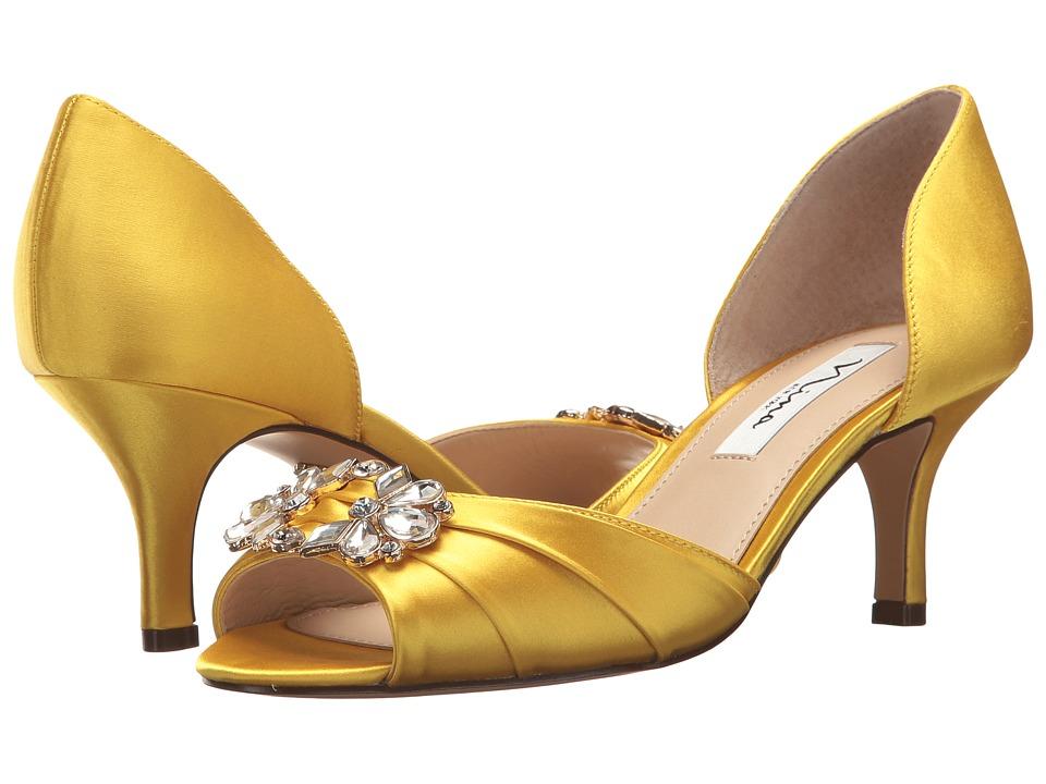 Nina Charisa (Citron) High Heels