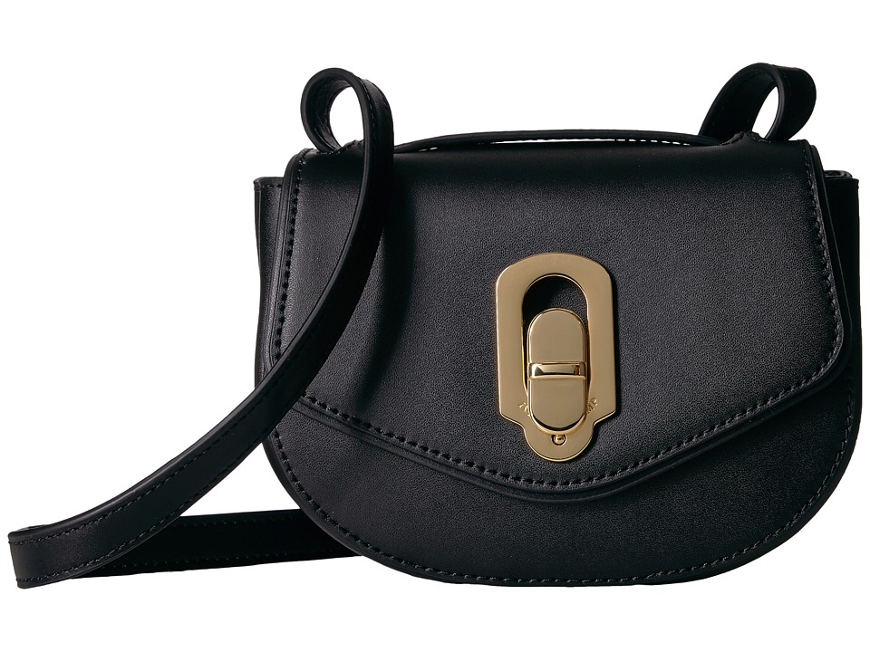 Ivanka Trump - Chelsea Mini Flap (Black Core) Handbags