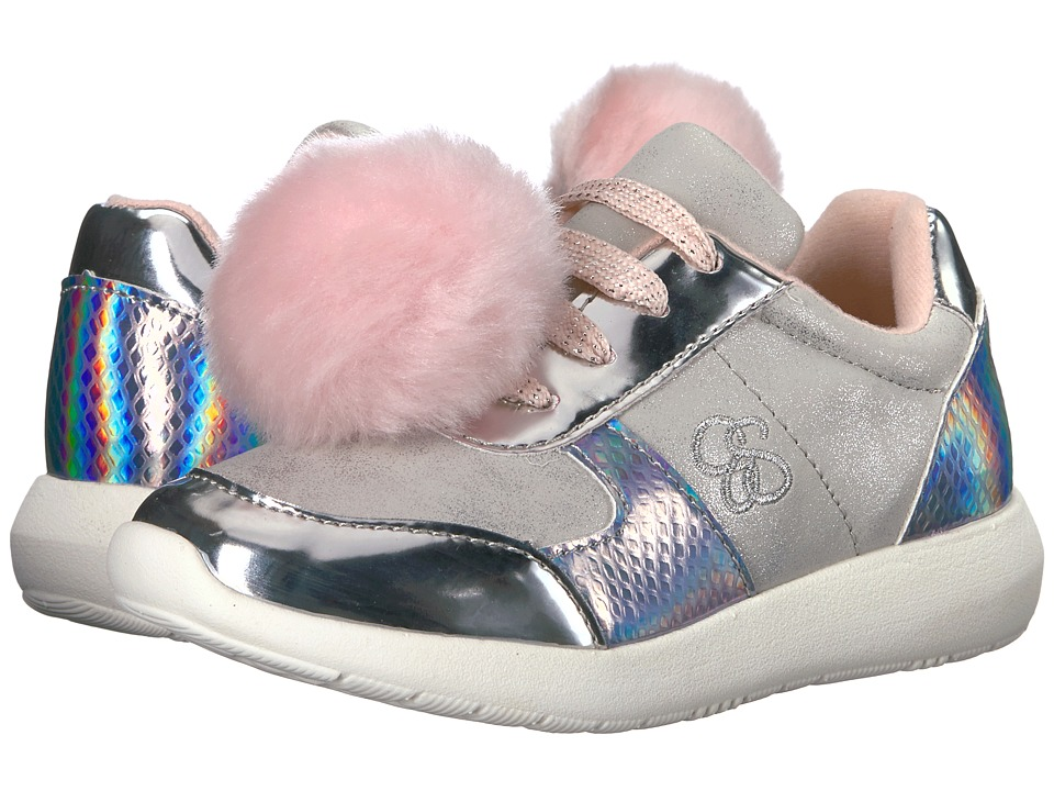 Jessica Simpson Kids Deuce (Little Kid/Big Kid) (Silver) Girl