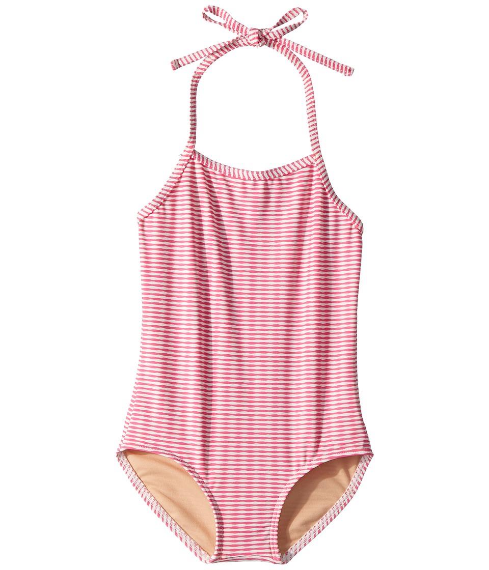 Toobydoo Lollipop Pink One-Piece Swimsuit (Infant/Toddler/Little Kids/Big Kids) (Pink) Girl