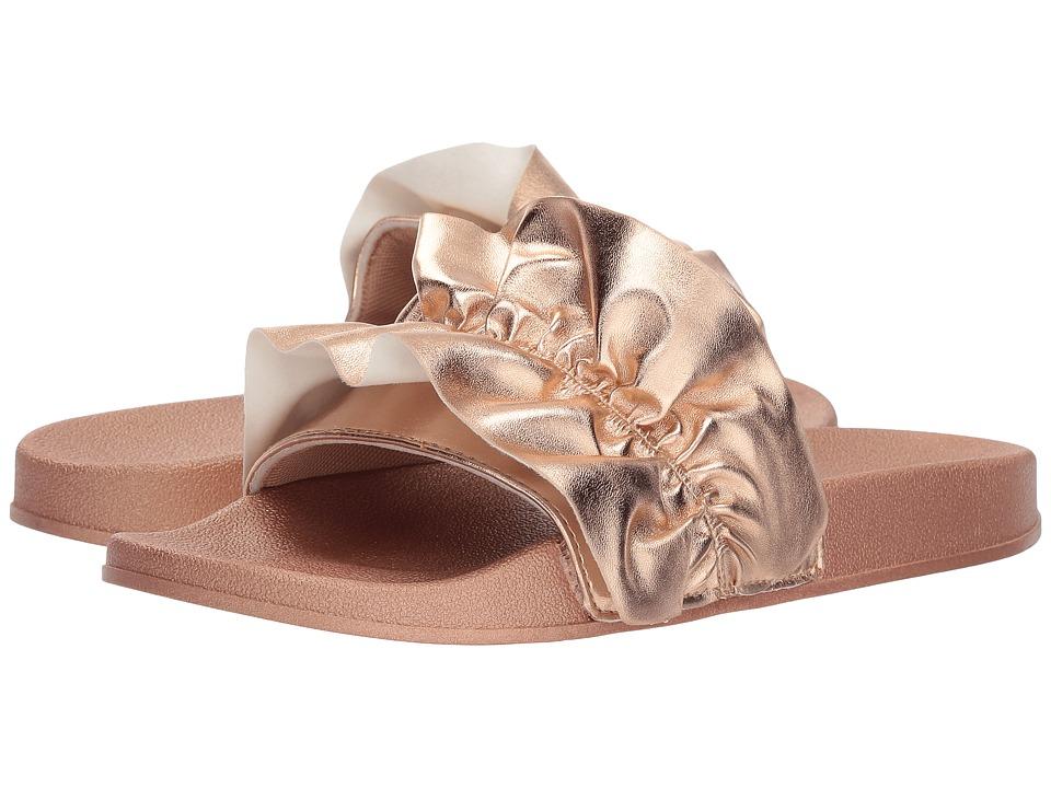 UNIONBAY Miraculous Ruffle (Rose Gold) Women