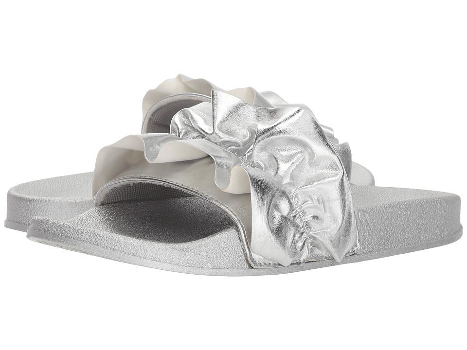 UNIONBAY Miraculous Ruffle (Silver) Women