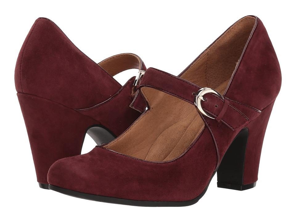 Sofft Miranda (Aubergine Suede) High Heels