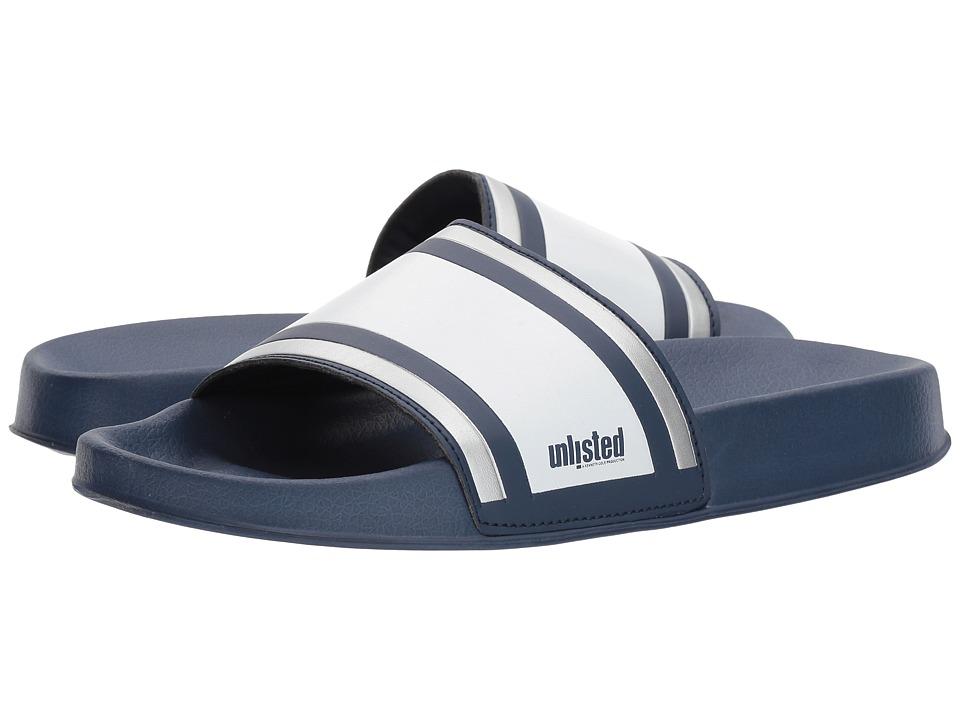 Kenneth Cole Unlisted Form Sandal (Navy) Men