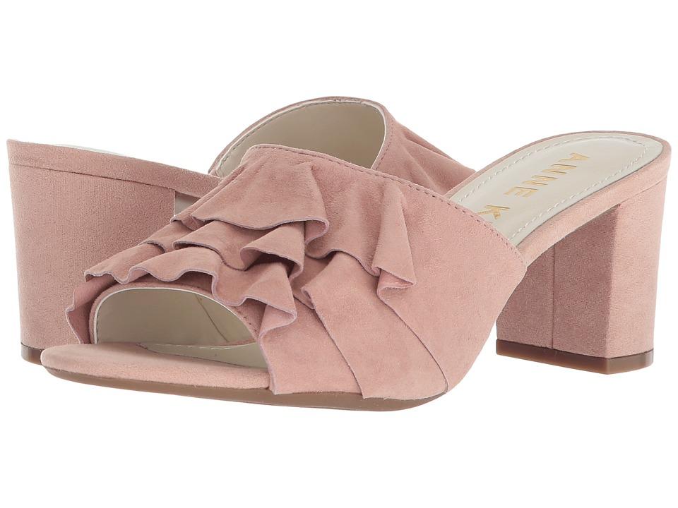 Anne Klein Cerise (Light Pink/Light Pink Suede) Women