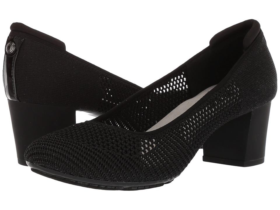 Anne Klein Genisa (Black Multi Fabric) High Heels