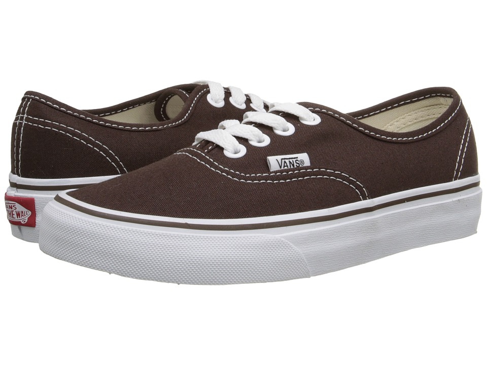 Vans - Authentic Core Classics (Espresso) Skate Shoes