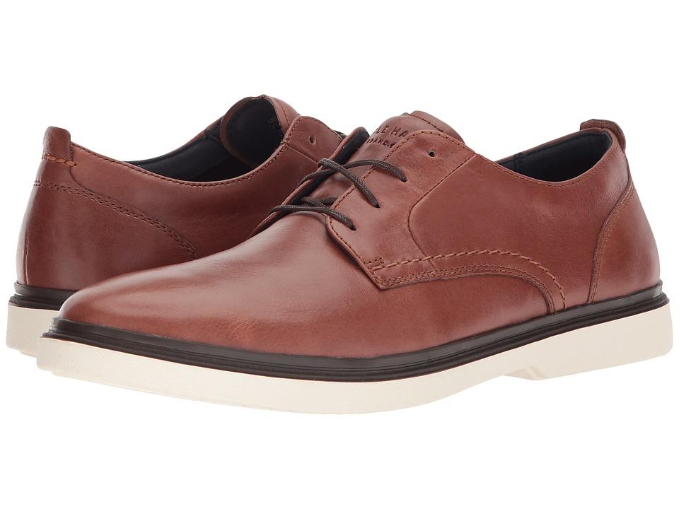 Cole Haan Brandt Plain Toe Oxford (Woodbury/Ivory) Men