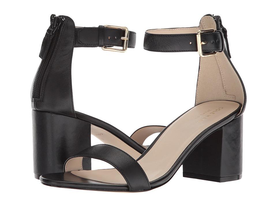Cole Haan Clarette Sandal II (Black Leather) Women