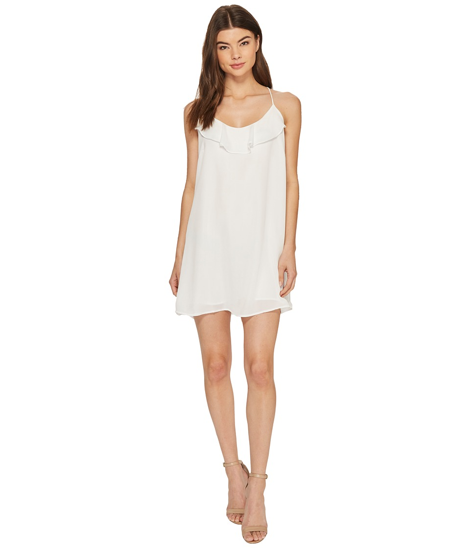 Lucy Love Bat Your Lashes Dress (White) Women