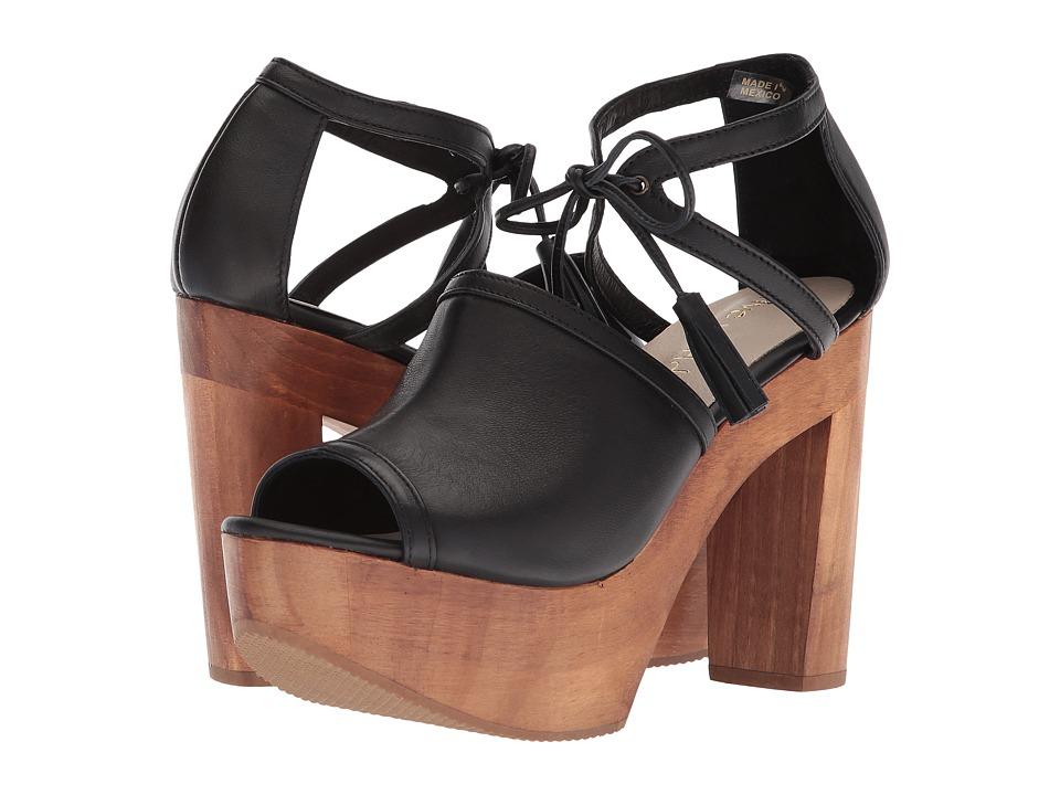 Cordani Timba (Black Leather) High Heels