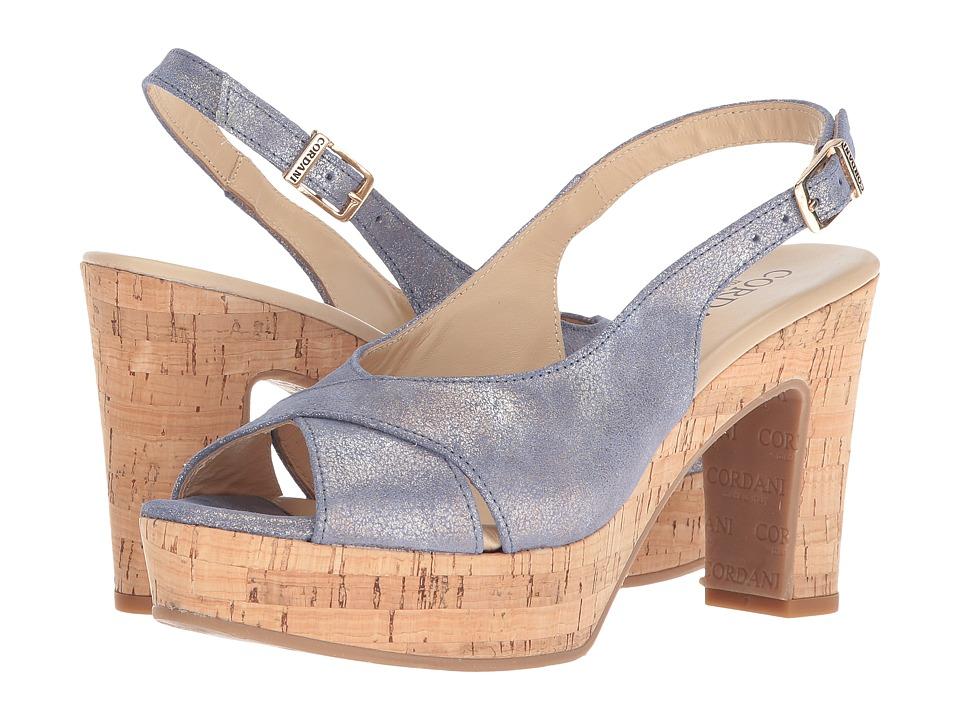 Cordani Tompkins (Blue Shimmer) High Heels