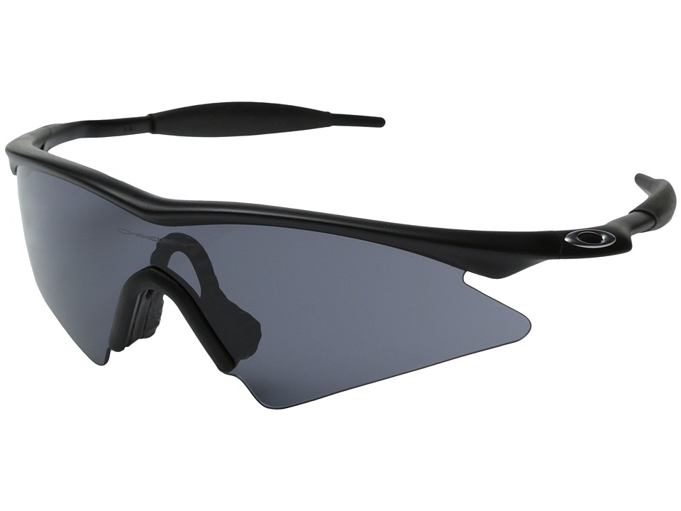 Oakley - M Frame Sweep (Black/Grey Sweep Lens) Sport Sunglasses