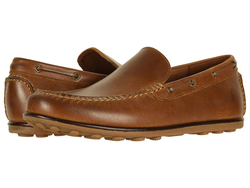 Frye Driving Moc Plain (Tan Leather) Men