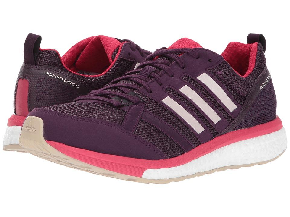 adidas Adizero Tempo 9 (Red Night/Icey Pink/Energy Pink) Women