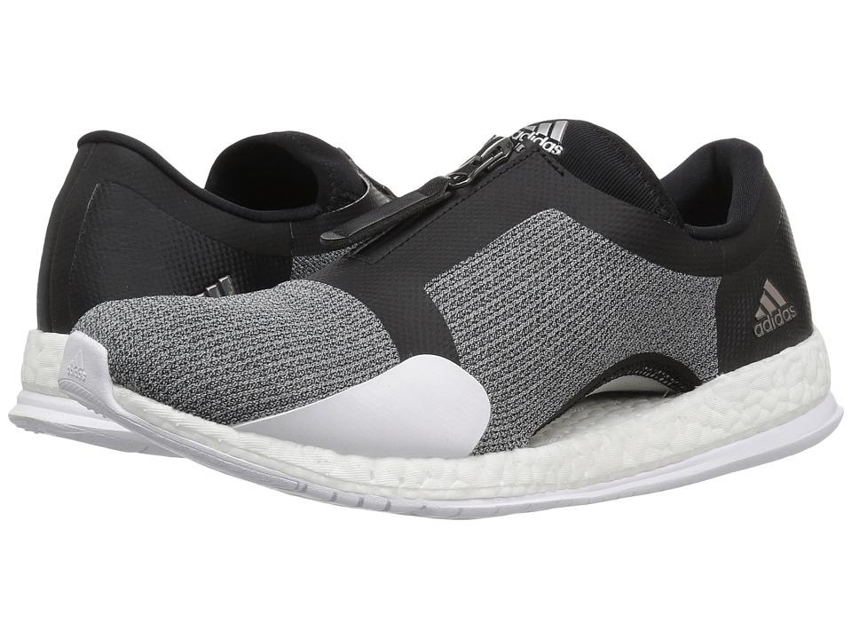 adidas Pureboost X TR Zip (Black/Silver Metallic/White) Women
