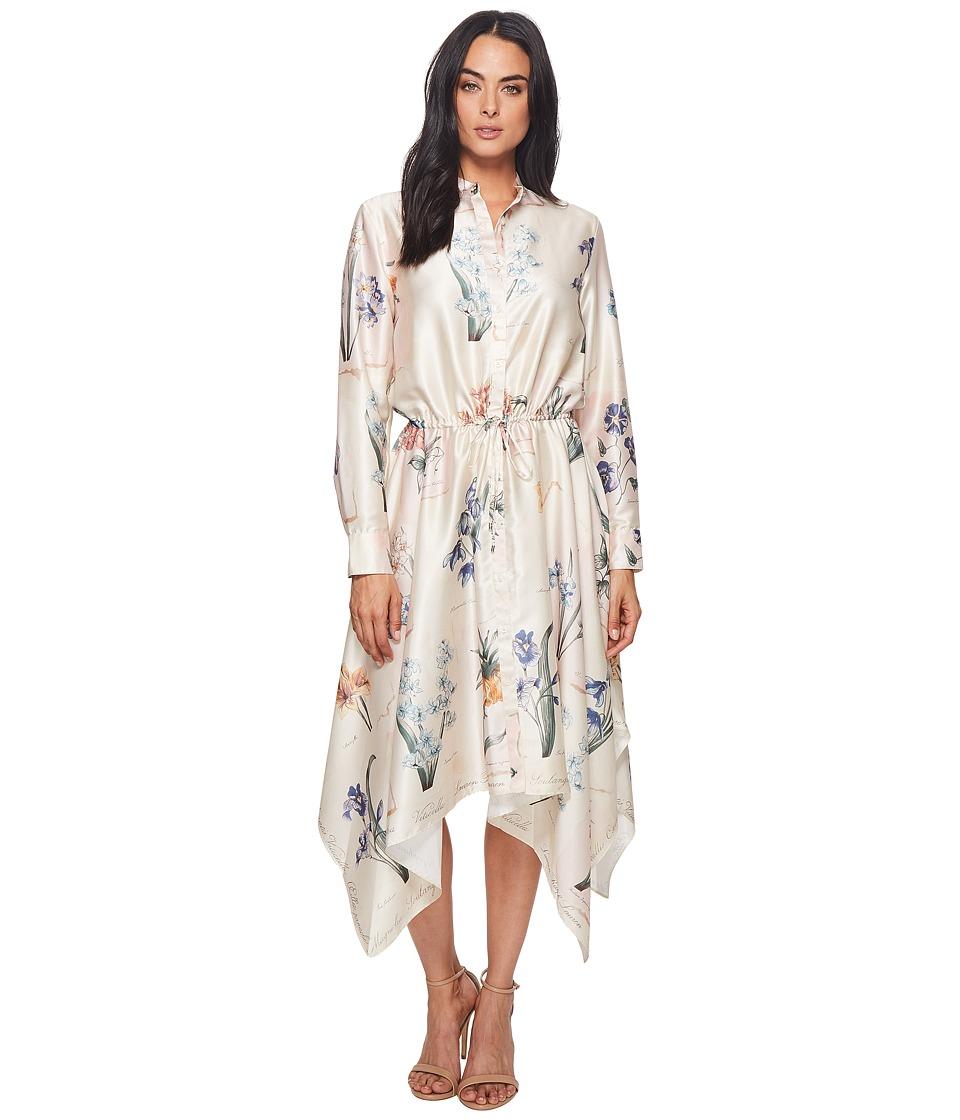 LAUREN Ralph Lauren Floral Handkerchief-Hem Dress (Multi) Women