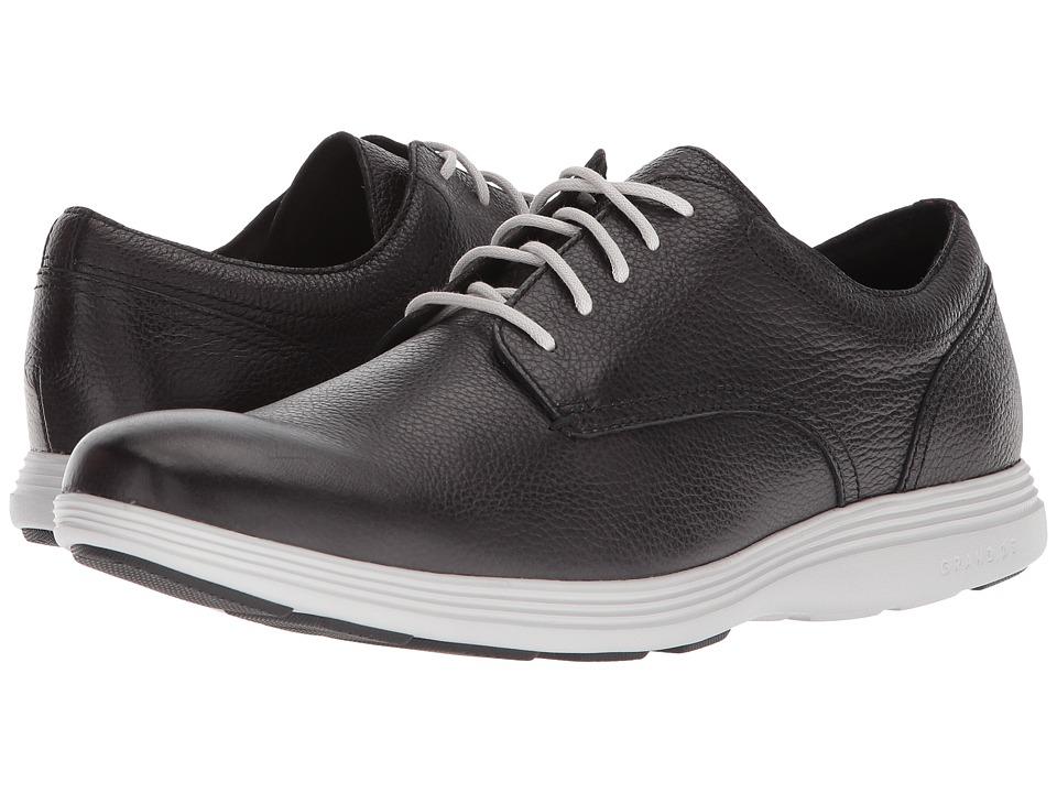 Cole Haan Grand Tour Plain Ox (Black Leather/Vapor Grey) Men