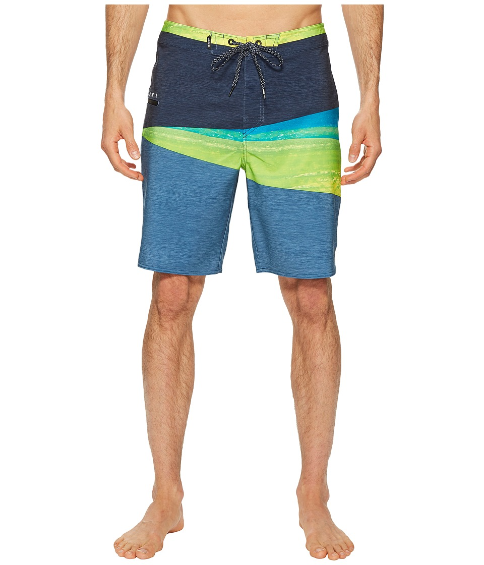 Rip Curl Mirage Wedge Boardshorts (Lime) Men