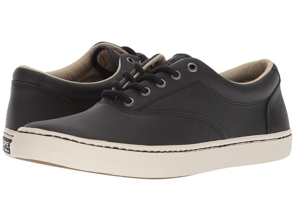 Sperry Cutter CVO Leather (Black) Men