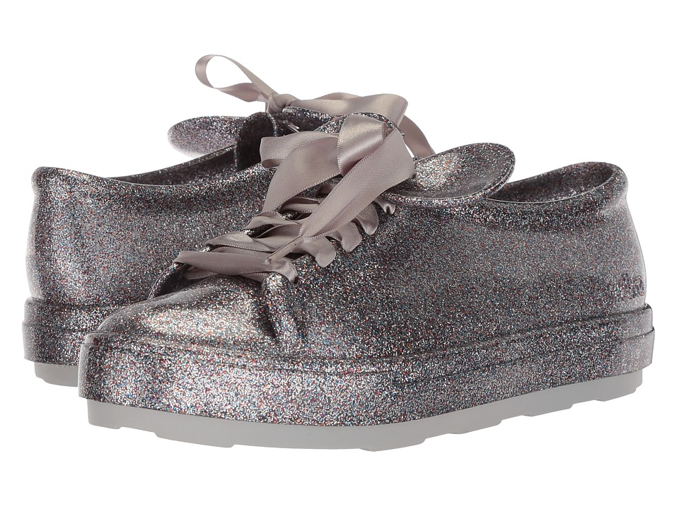 Melissa Shoes Be + Disney (Silver Cloud Glitter) Women