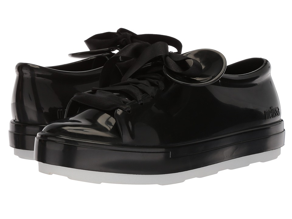 Melissa Shoes Be + Disney (Black/White) Women