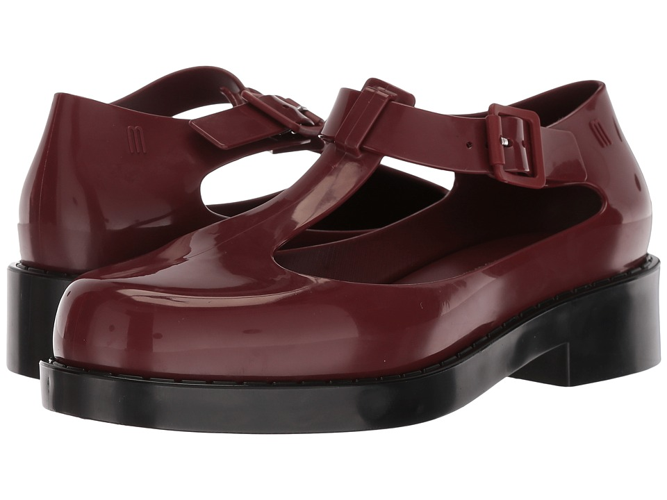Melissa Shoes Kazakova (Bordeaux/Black) Women