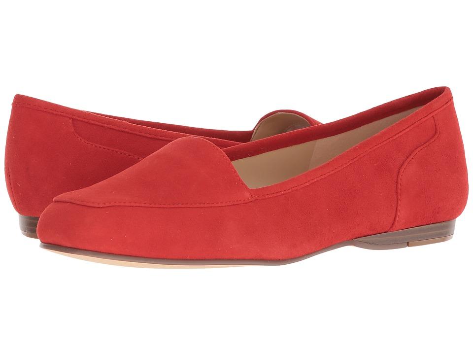 Bandolino Liberty (Fiery Red Suede) Women